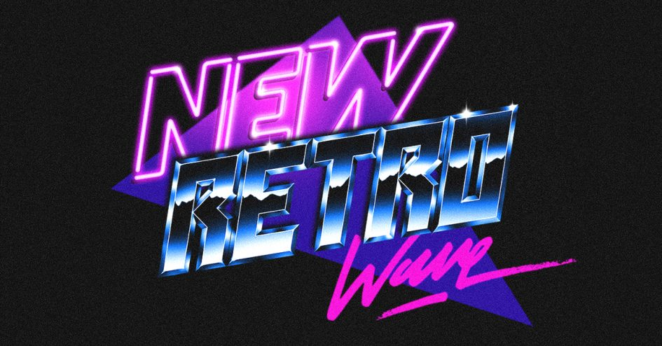 New Retro Wave logo