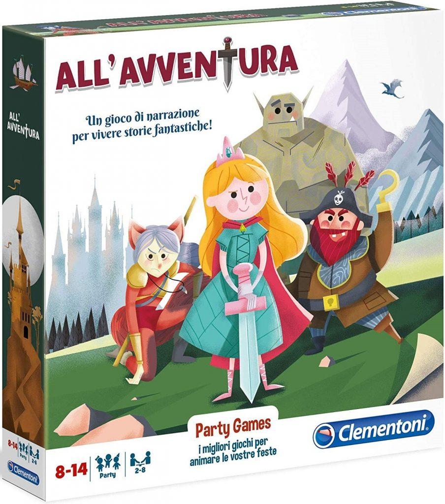 All'avventura, party game narrativo e di narrazione