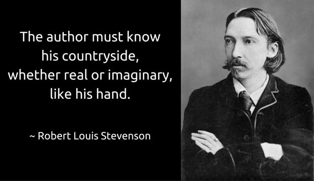 Ambientazione Robert Louis Stevenson
