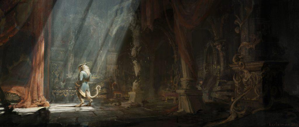 Concept art La Bella e la Bestia, di Karl Simon