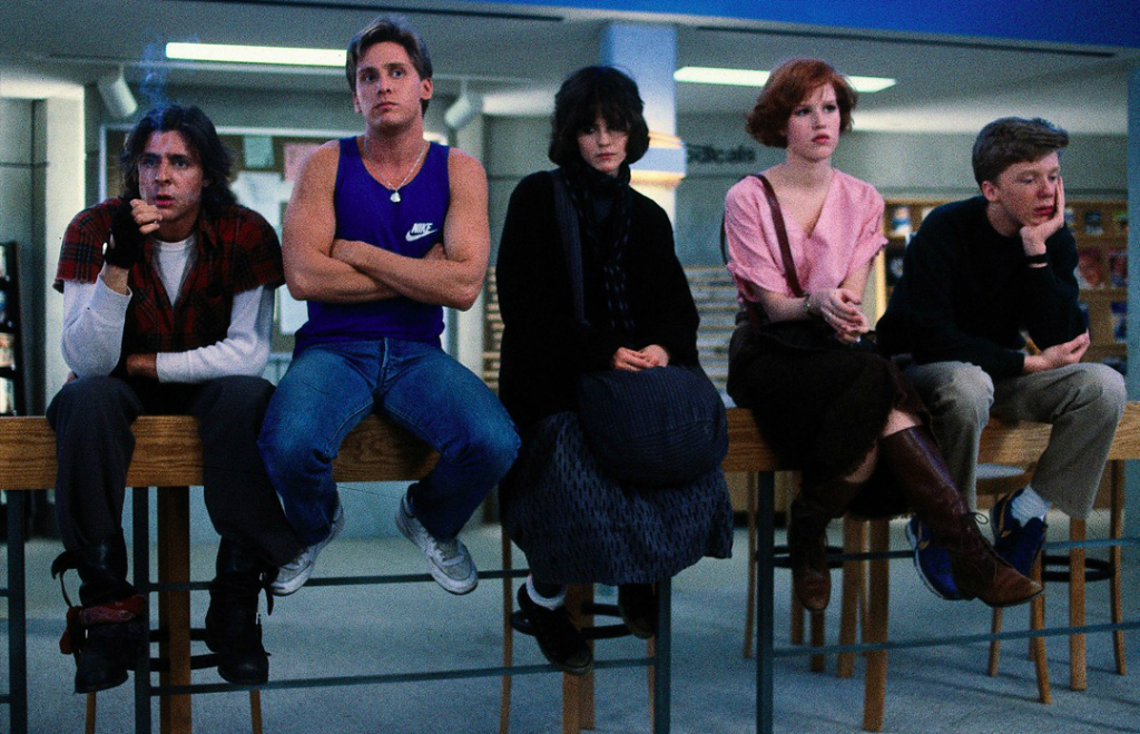 The Breakfast club, film di formazione
