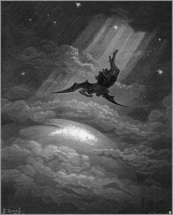 L'angelo caduto, mito di Icaro e Lucifero