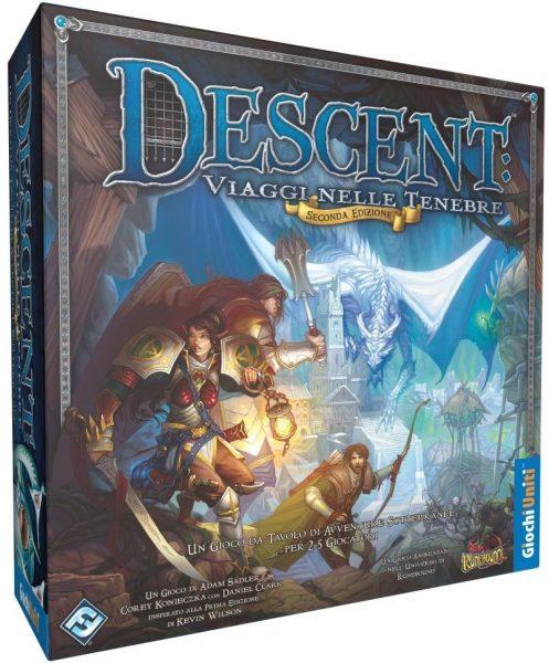 Descent: Viaggi nelle tenebre, dungeon crawler e gioco di ruolo con app