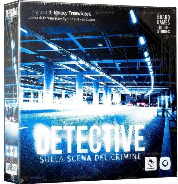 Detective, gioco da tavolo di investigazione