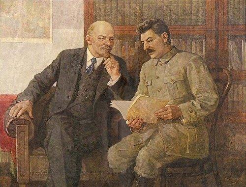 dialogo divertente tra stalin e lenin