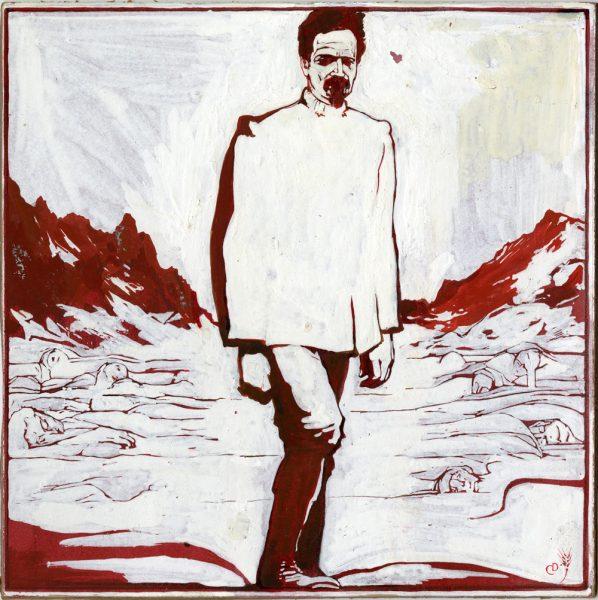 Duilio Cambellotti, ritratto di Cesare Battisti