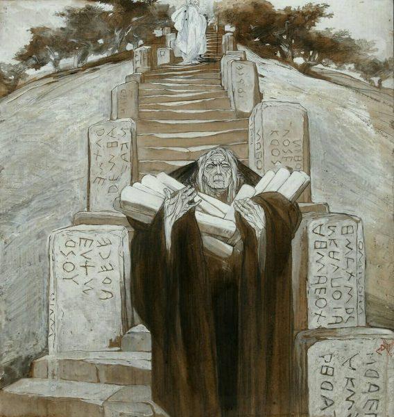 Duilio Cambellotti, Leggende Romane