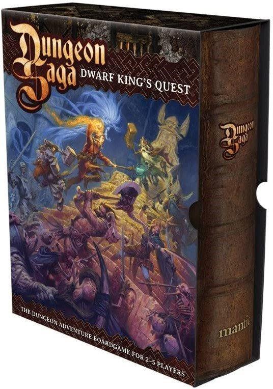Dungeon Saga, dungeon crawler alla HeroQuest