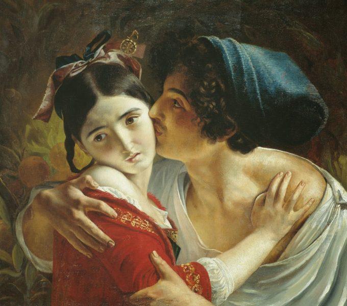 Fyodor Moller bacio Amante