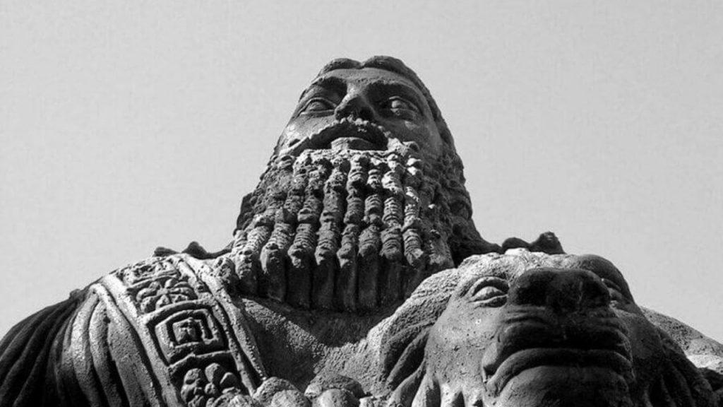 Gilgamesh, statua a Sidney