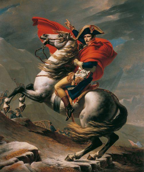 Napoleone attraversa le alpi, Jacques-Louis David, Sovrano