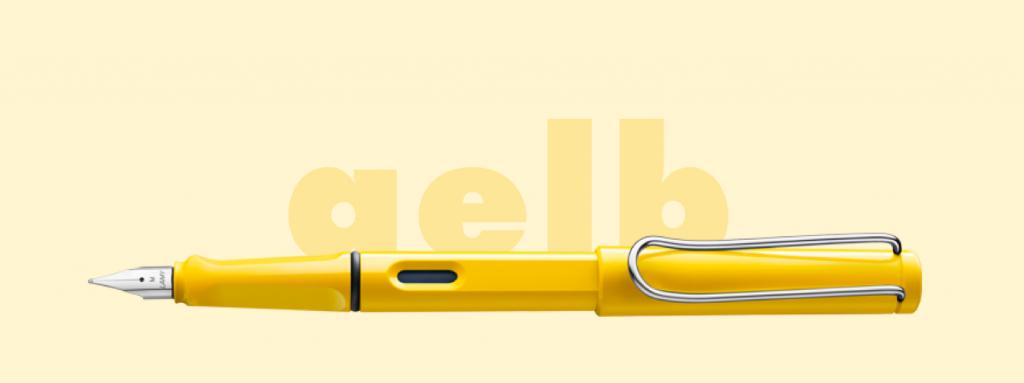 Lamy Safari, strumento per scrittori