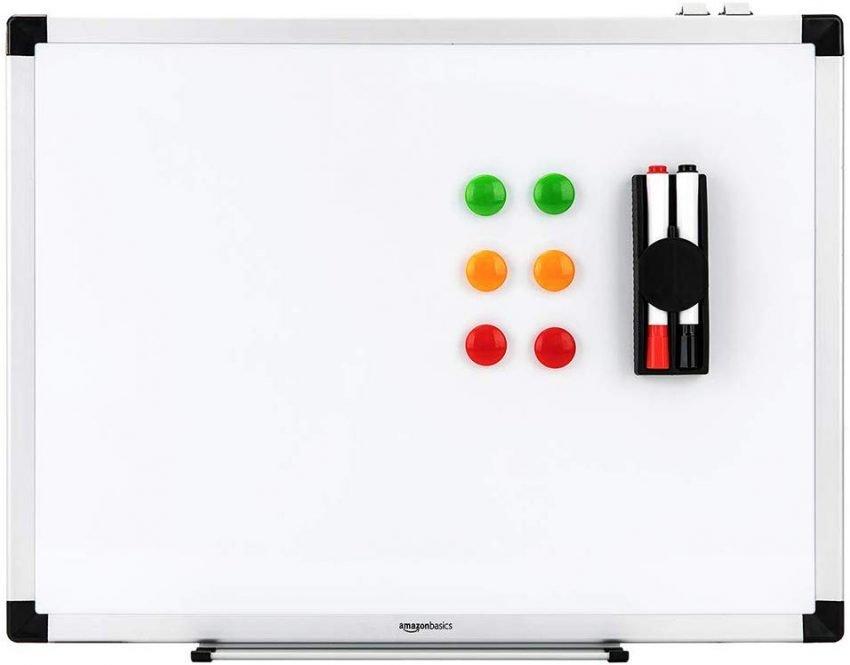 Lavagna magnetica amazon basics, strumenti per la scrittura creativa