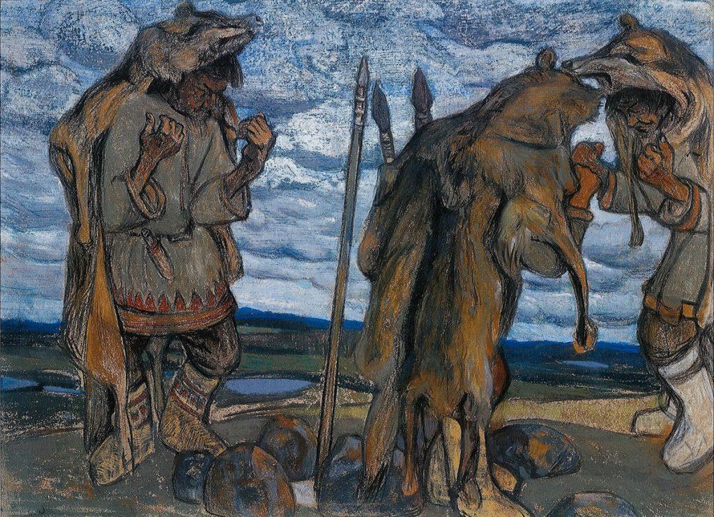 Колдуны (Stregoni), Nicholas Roerich