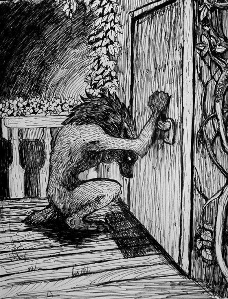 Lupo mannaro bussa alla porta