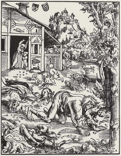 Lupo Mannaro, Lucas Cranach il Vecchio