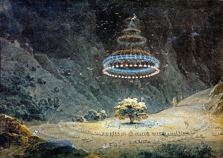 Il Noce di Benevento, Giuseppe Pietro Bagetti