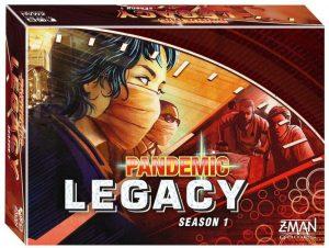 Pandemic Legacy Season 1 (Red box)