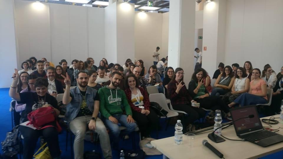 Partecipanti conferenza urban fantasy