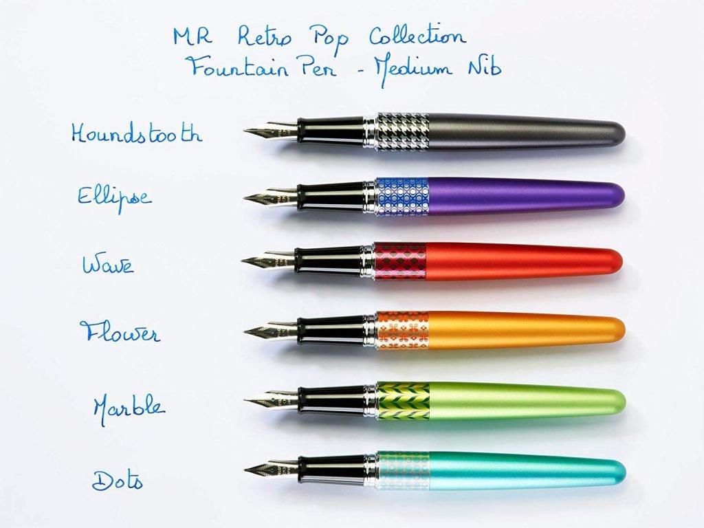 Pilot Metropolitan MR3, strumenti per la scrittura