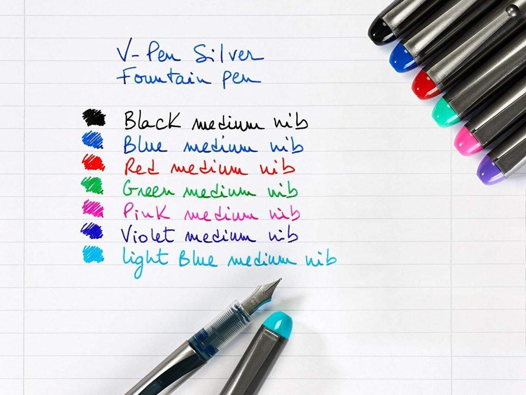 Pilot V-Pen, strumenti scrittura