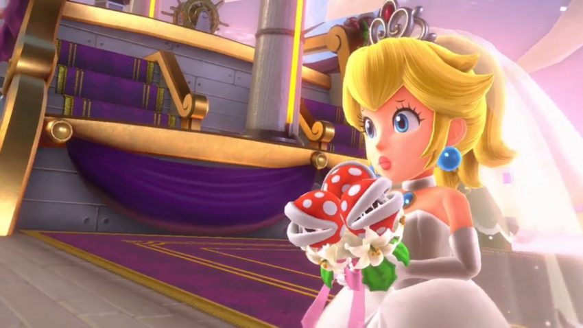 Principessa Peach damsel in distress