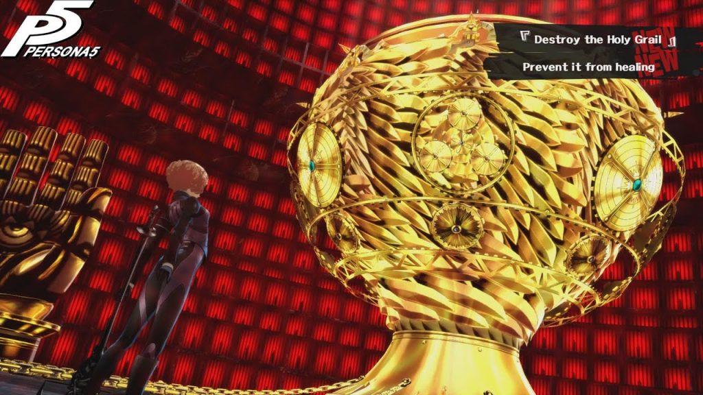 Santo Graal in Persona 5, metafora del Monomito