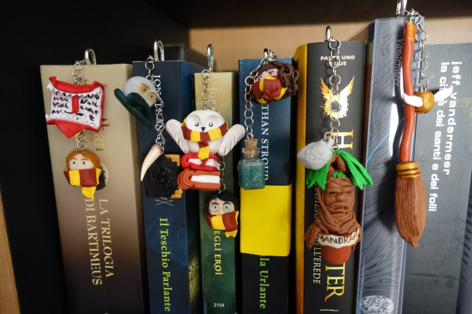 I Librosi segnalibri di harry potter