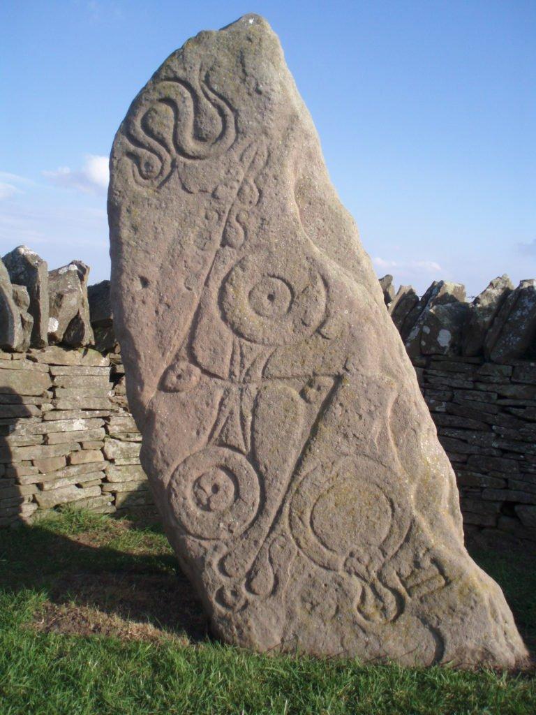 Pietra del Serpente Aberlemno, pietra pitta