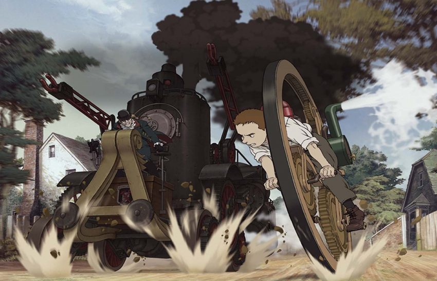 Steamboy di Katsuhiro Otomo, steampunk