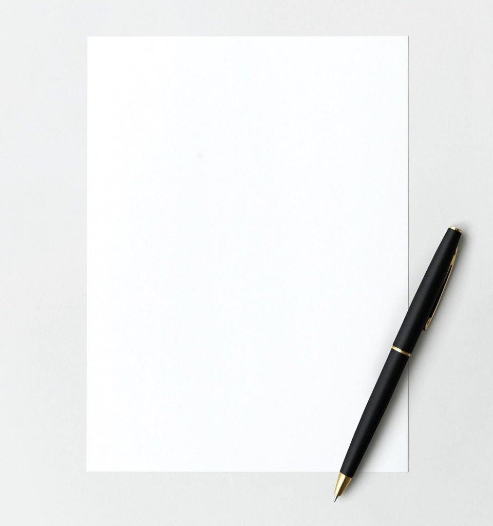 La struttura narrativa è un foglio bianco