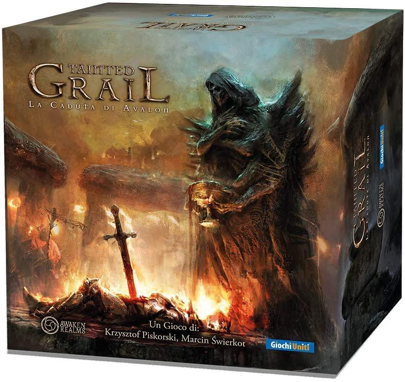 Tainted Grail, gioco narrativo dark fantasy