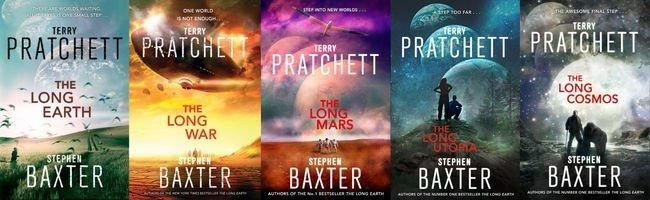 Serie de La Lunga Terra, Terry Pratchett & Stephen Baxter