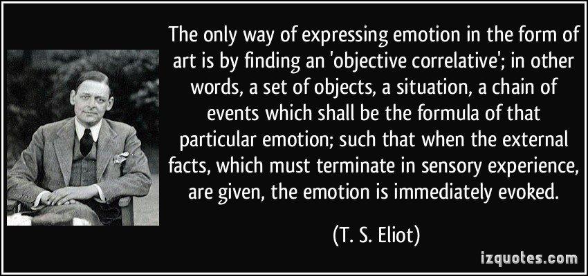 Correlativo oggettivo T. S. Eliot