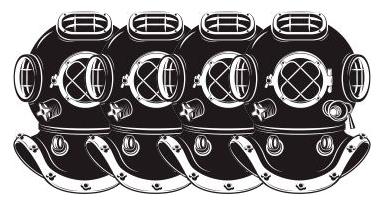 Quattro caschi Palombaro