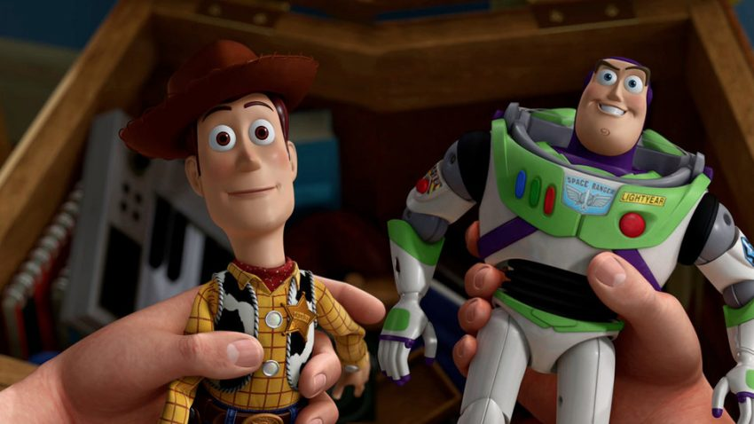 Woody e Buzz, voce dei personaggi nei dialoghi