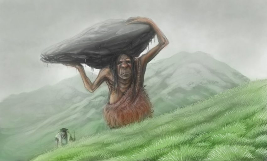 Jentil gigante basco