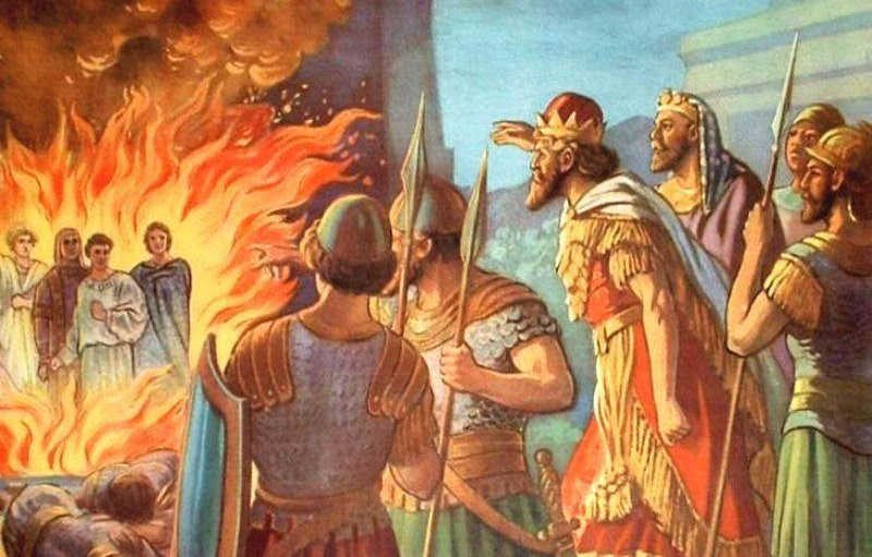 Shadrach, Meshach e Abednego nella Fornace
