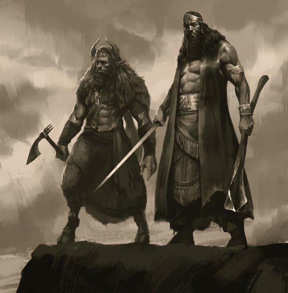 Gilgamesh e Enkidu