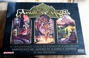 Tales of Arabian Nights gioco di narrazione