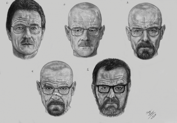 L'Arco di trasformazione del personaggio di Walter White (Heisenberg)
