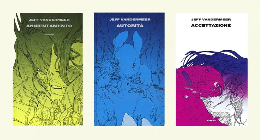Trilogia dell'Area X Jeff VanderMeer